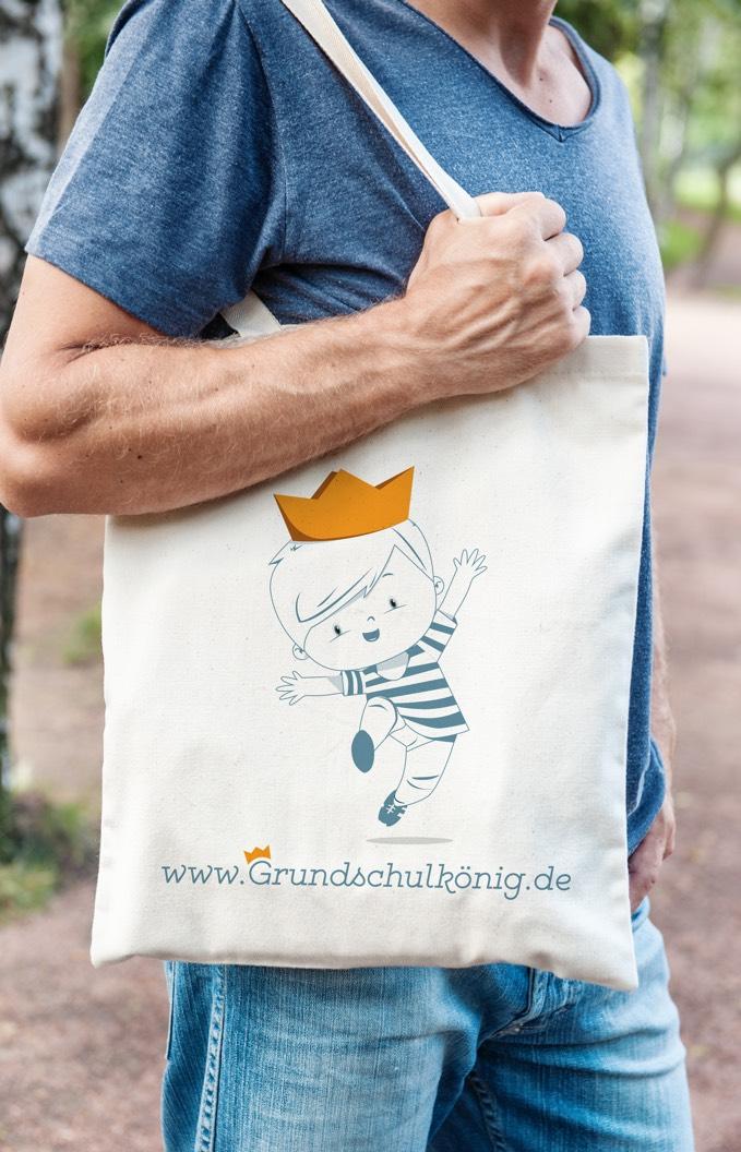 Corporate Design Und Illustration Für Den Grundschulkönig Im Neuland München